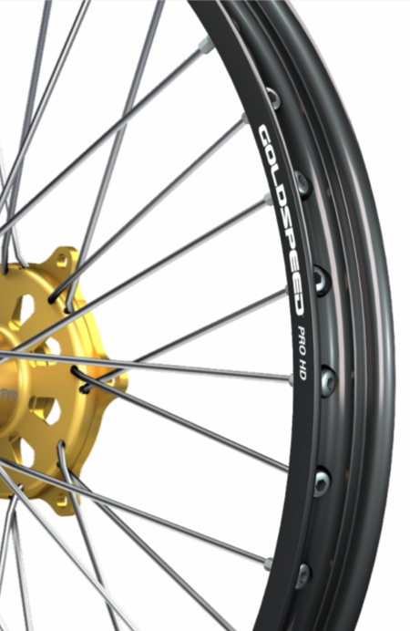 Goldspeed motorcycle wheel